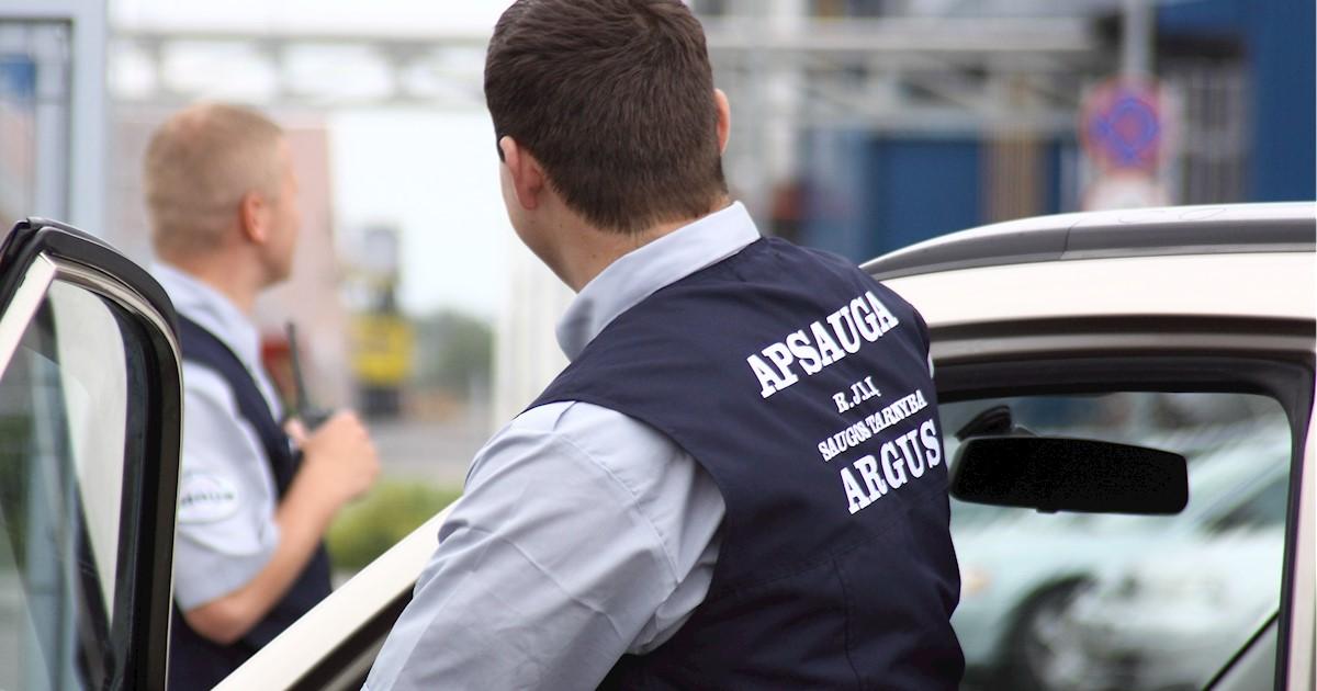 """Apsaugos darbuotojas (-a), UAB saugos tarnyba """"ARGUS"""""""