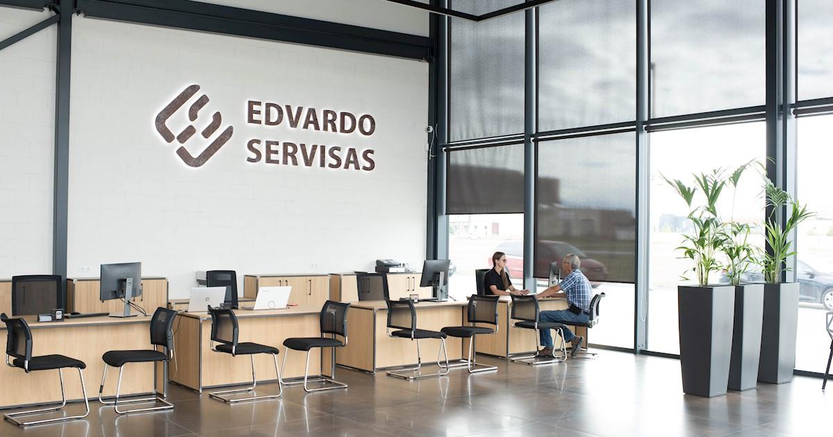 Automobilių serviso priėmėjas, Edvardo Servisas
