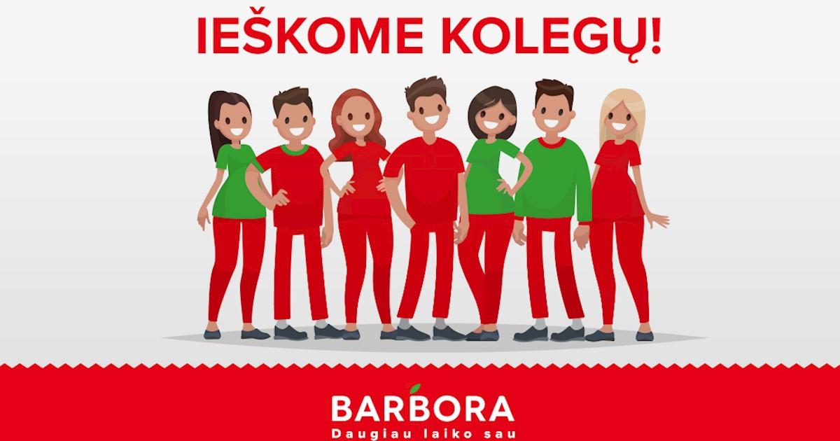 """Užsakymų komplektuotojas Vilniuje MAXIMA BAZĖJE, UAB """"Barbora"""""""