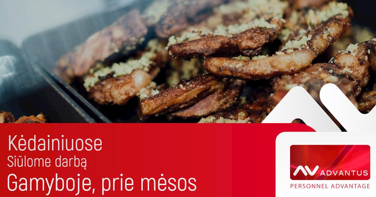 Mėsos svėrėjai - ženklintojai (-os), UAB Advantus