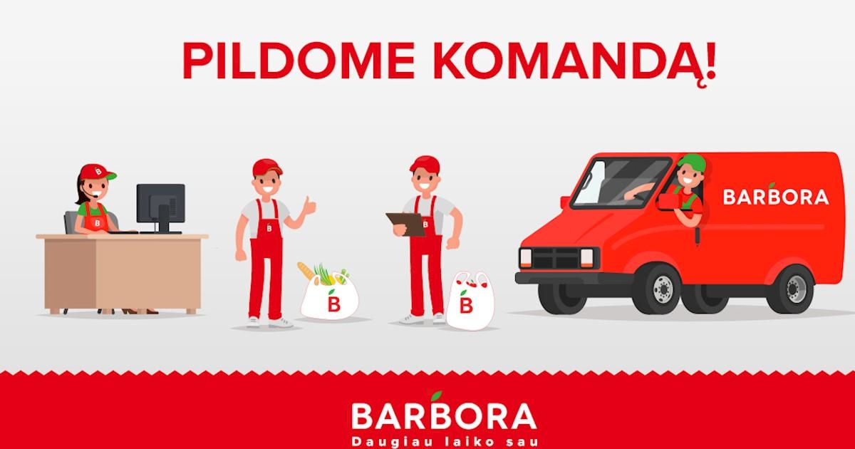 """Kurjeris Klaipėdoje, UAB """"Barbora"""""""